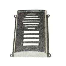 Protetor para Interfone Coletivo Sobrepor HDL 8 Pontos Prata Decorarte