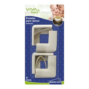 Protetor para Quina 4 unidades 4x4cm 5160 Viva Baby