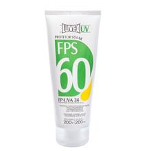 Protetor Solar Luvex UV FPS 60 Bisnaga 200g