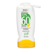 Protetor Solar Luvex UV FPS 60 Frasco Green 120g/ml