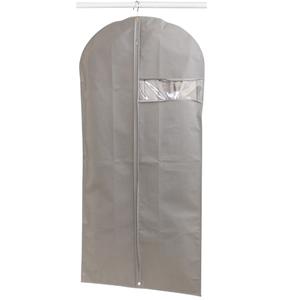 Protetor Vestido TNT Spaceo Cinza 135x60cm Spaceo