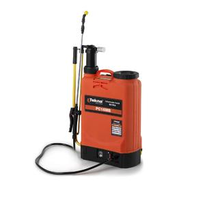 Pulverizador costal bateria manual pc16mbtk 16l tekna for Pulverizador leroy merlin