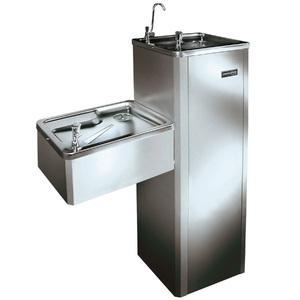 Purificador de Água Gelada e Natural com Coluna MFA40 127V (110V) Inox Masterfrio