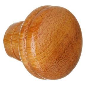 Puxador de Madeira Cerejeira 1 furo 39 mm Zamar