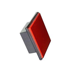 Puxador de Metal Zamak A629XY Cromado/Vermelho 30 mm Geris