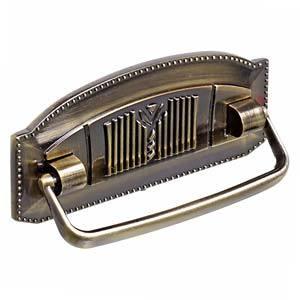 Puxador de Metal Zamak Colonial-105 Antique 64 mm Italy Line