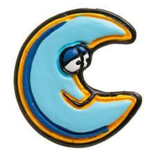 Puxador Infantil de Resina Lua Azul 1 furo 2452 Chiquita Bacana 09ee9543b1a5b