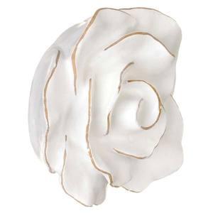 Puxador Infantil de Resina Rosa Provencial Branca 1 furo 3608 Chiquita Bacana