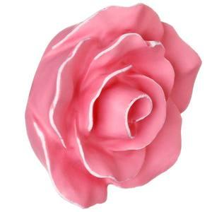 Puxador Infantil de Resina Rosa Provencial Rosa Velho 1 furo 5400 Chiquita Bacana