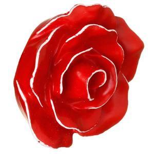Puxador Infantil de Resina Rosa Provencial Vermelha 1 furo 3672 Chiquita Bacana