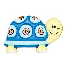 Puxador Infantil de Resina Tartaruga Azul 1 furo 2457 Chiquita Bacana 3cbb50aeee8b4