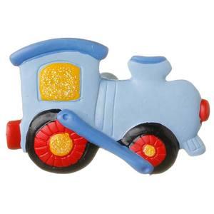 Puxador Infantil de Resina Trem 1 furo 3588 Chiquita Bacana