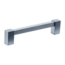 Puxador Para Móveis 150mm Alumínio Cromado Prata Pauma
