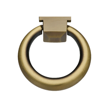Puxador para Móveis 42mm Zamac Oxidado Dourado Italy Line
