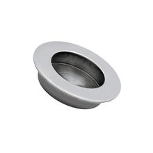 Puxador para Móveis 65mm Aço Inox Inox Escovado Prata Geris