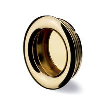 Puxador para Móveis Aço Dourado Cromado Dourado 35mm