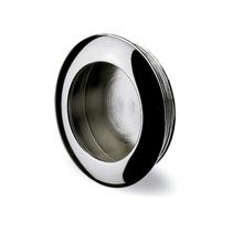 Puxador para Móveis Aço Prata Cromado 35mm