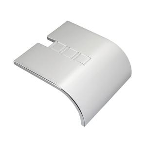 Puxador para Móveis Zamac Prata 40mm
