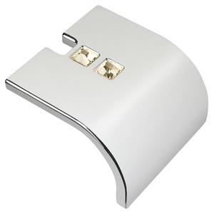 Puxador para móvel 1 furo 40 mmx23 mm Cromado Akeo