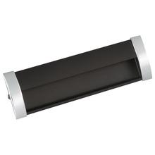 Puxador para móvel 2 furos 51,6 mmx16,4 mm Ponteiras Cromadas/Haste Polida Akeo