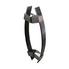 Puxador para Porta Duplo 1000mm Alumínio Escovado Vesfer