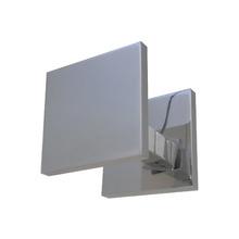Puxador para Porta Duplo 100mm Alumínio Polido Vesfer