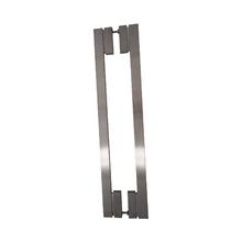 Puxador para Porta Duplo 1200mm Inox Escovado Vesfer