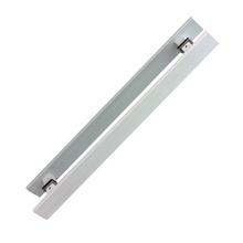 Puxador para Porta Duplo 40cm Inox Polido Eco Planus Geris