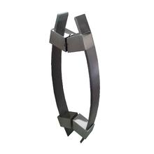Puxador para Porta Duplo 600mm Alumínio Escovado Vesfer