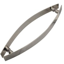 Puxador para portas Chato Inox Escovado 250mm Geris