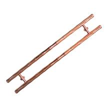 Puxador para Portas Duplo 117cm Alumínio Italy Line