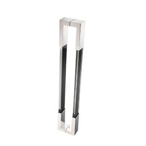Puxador para Portas Duplo 600mm Aço Inox Italy Line