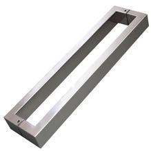 Puxador para portas H40 Inox Polido 420mm Geris