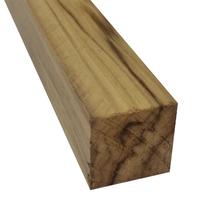 Quadrado Madeira Teca 3,5x3,5x100cm Massol