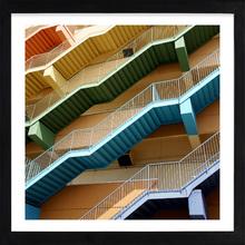 Quadro  Beach Stairs I 39x39cm