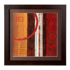 Quadro Abstrato 42x42cm Kapos