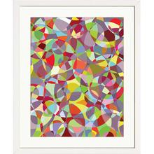 Quadro Abstrato Illusion 48x58cm