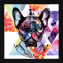 Quadro Art Wall Dog 29x29cm