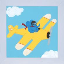 Quadro Avião 29x29cm