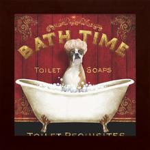 Quadro Bath Time 19x19cm