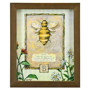 Quadro Bee Xangão 28x23cm Ventura