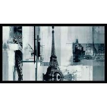Quadro Blue Paris 90x50cm