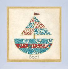 Quadro Boat 24x24cm
