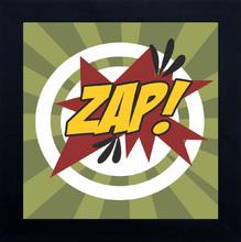 Quadro Cartoon Zap! 29x29cm