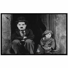 Quadro Charles Chaplin 29x19cm