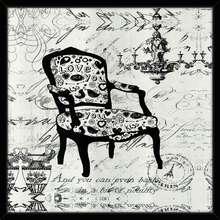 Quadro Closet Chair 58x58cm