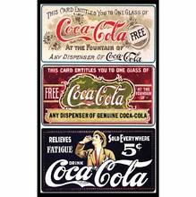 Quadro Coca Cola 19x29cm