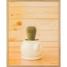 Quadro Cup Cactus 45x32cm