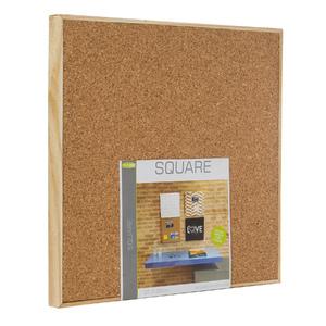 Quadro de Aviso Cortiça Square Liso 35x35cm