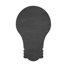 Quadro de Aviso Lâmpada Lousa Preta 28x44cm